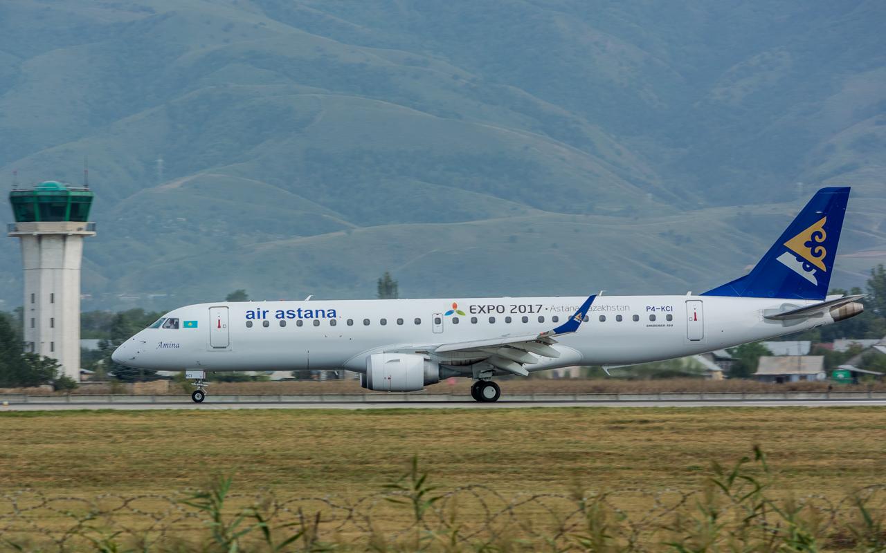 3-Air Astana Embraer 190-P4-KCI-Amina